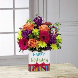 The Birthday Brights Bouquet