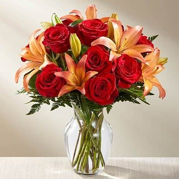 Fall Fire Bouquet