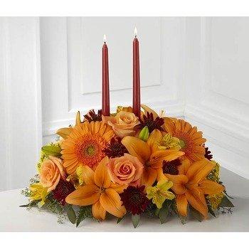 The Bright Autumn Centerpiece