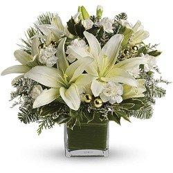 Diamonds & Icicles Bouquet
