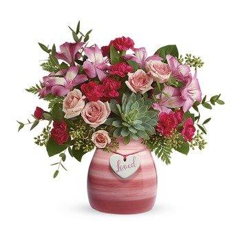 Teleflora's Cross My Heart Bouquet