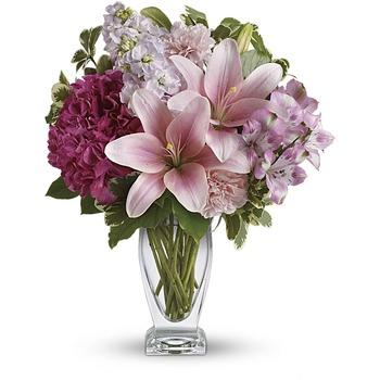 Teleflora's Blush Of Love Bouquet