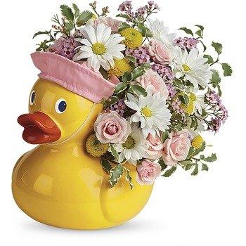 Telelfora's Sweet Little Ducky Bouquet
