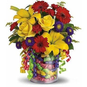 Birthday Ribbon Bouquet