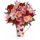 Teleflora's Lovely Hearts Bouquet