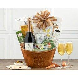 Thomas Jefferson Brut Wine Basket