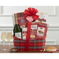 Italian Peach Bellini Gift Basket