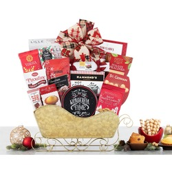 Chocolate and Sweets Holiday Sleigh