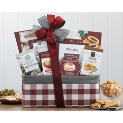 Stay Connected Gourmet Gift Basket