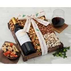 Callister Cellars Cabernet and Mixed Nuts