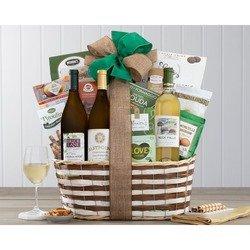 California Trio White Wine Gift Basket