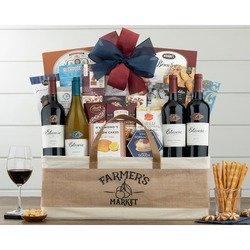 Estancia Vineyards Quartet Wine Basket