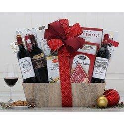 The Bordeaux Collection Wine Basket