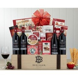 Beringer Founders' Estate Quartet Wine Basket