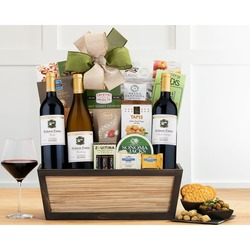 California Red And White Wine Trio Gift Basket