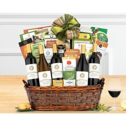 California Tasting Room Collection Gift Basket