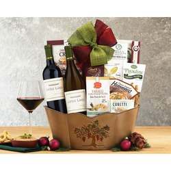 Briar Creek Cellars Double Delight Wine Basket