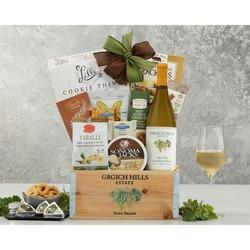 Grgich Hills Chardonnay Wine Gift Basket