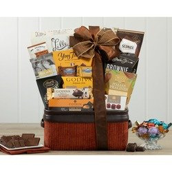 Milk and Dark Chocolate Gift Basket