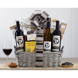 Ravenswood Red And White Wine Basket