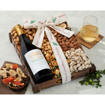 Hobson Estate Chardonnay and Mixed Nuts