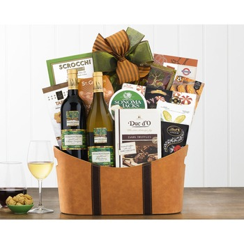 Brick Lane California Assortment Wine Basket