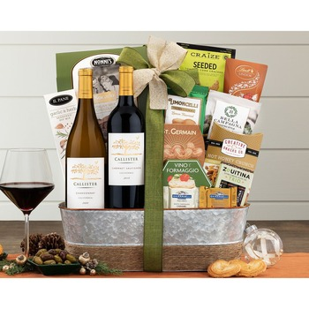 Cliffside Vineyards Wine Basket