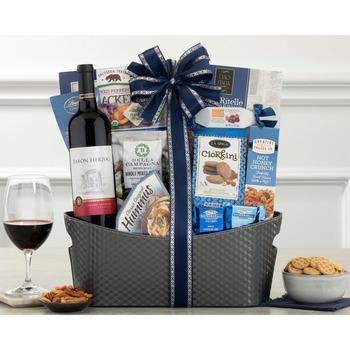 Alfasi Cabernet Kosher Wine Gift Basket