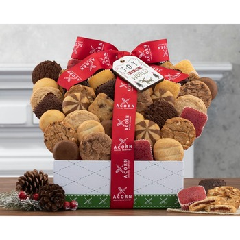 Deluxe Cookie and Brownie Winter Assortment