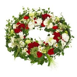 Timelessfuneral wreath