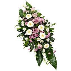 Lilac Funeral Spray