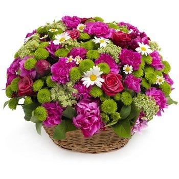Flourishing Flower Dish