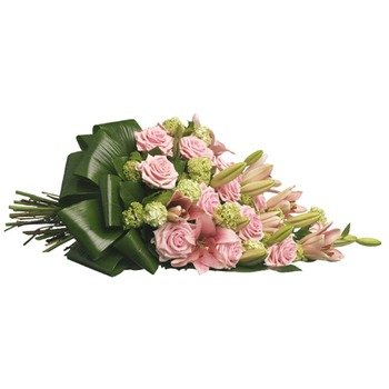 Touching Roses Funeral Bouquet