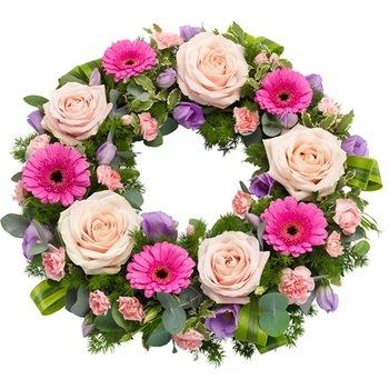 Pretty Funeral Wreath