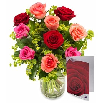 Sweet roses set