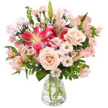 Pink florist surprise (Vase not included)