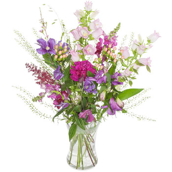 Romantic field bouquet (Vase not included)