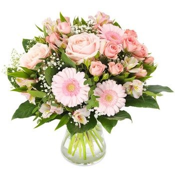Soft pink bouquet (Vase not included)