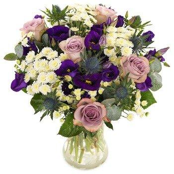 Floral blue (Vase not included)