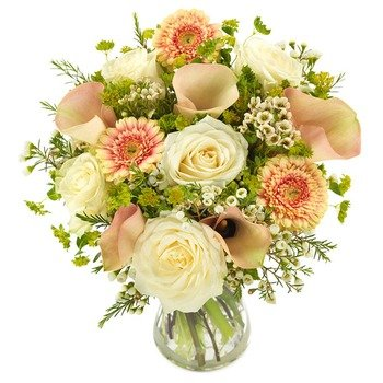 Soft Peach Bouquet (Vase not included)