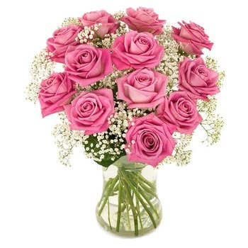 Sweet Love in Pink (Vase not included)