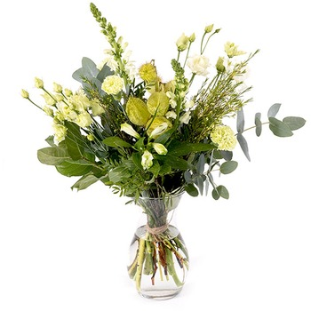 White field bouquet (Vase not included)