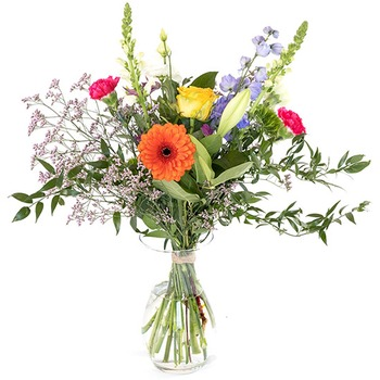 Colorful field bouquet (Vase not included)