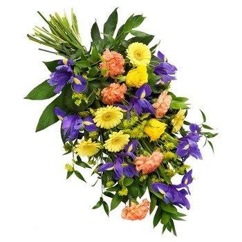 Seasonal Funeral Bouquet