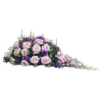 Lilac Funeral Arrangement
