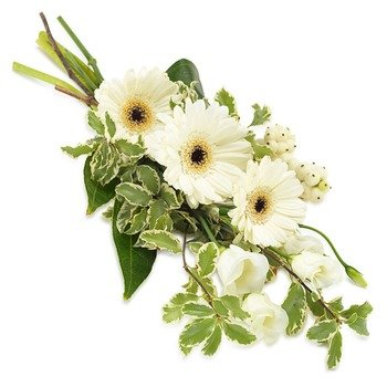 White Hand Bouquet (Vase not included)