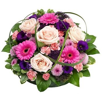 Posy Pad in Pink and Purple