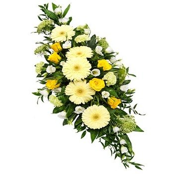 Funeral Spray in Soft Colors