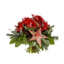 """Merry Christmas"" Bouquet"