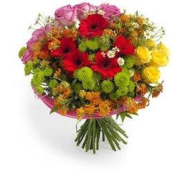 """Rainbow"" Bouquet"